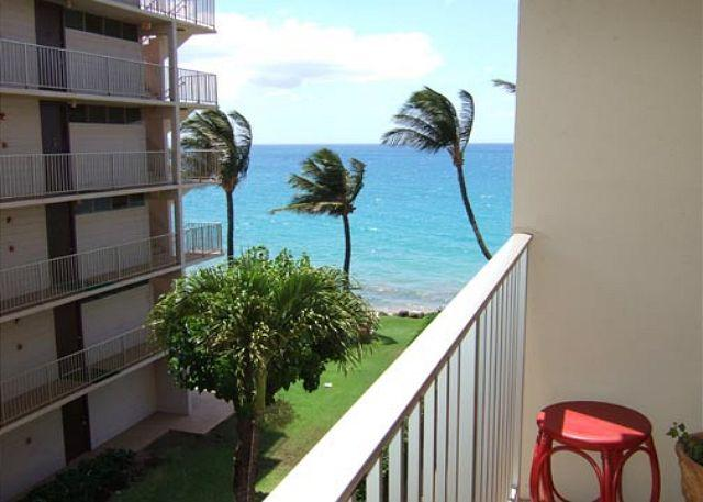 View from lanai - Royal Mauian #419 2Bd 2Ba Lovely Unit Sleeps 6  Great Rates! - Kihei - rentals