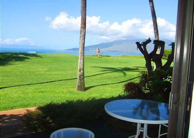 Panoramic Ocean View from #127 - Waiohuli Beach Hale #D-127 Direct Oceanfront Kihei  Steps from the beach! - Kihei - rentals