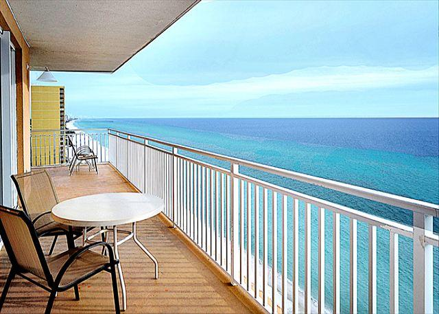 Beachfront for 9, Windsong Unit, Open Week of 4/11 - Image 1 - Panama City Beach - rentals