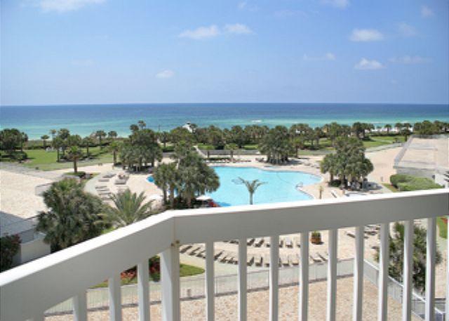 Balcony Pool & Gulf View - St. Croix 502 Silver Shells - 231887 - Destin - rentals