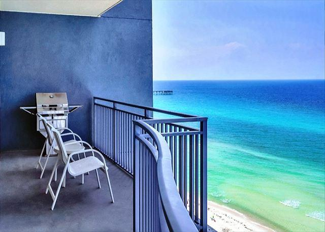 BEACHFRONT AND GREAT VIEWS - SLEEPS 8! OPEN WEEK OF 3/21-3/27 - 10% OFF - Image 1 - Panama City Beach - rentals