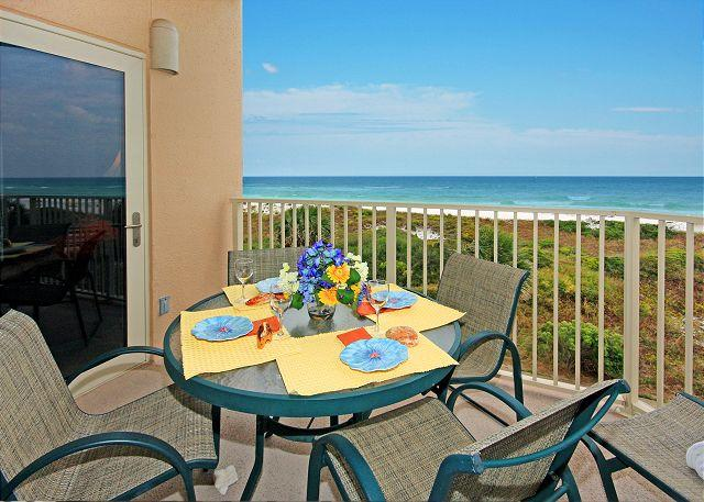 View from YOUR balcony! - BEACHFRONT FOR 6! BEAUTIFUL VIEWS! OPEN 3/21-3/28! -  TAKE 10% OFF - Destin - rentals