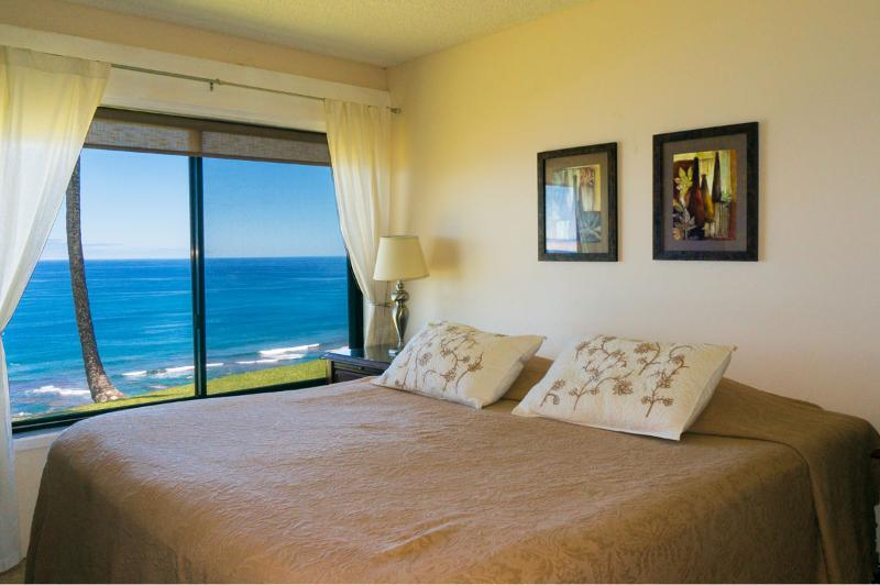New King Size Bed - Sealodge condo unit A1 - Princeville - rentals