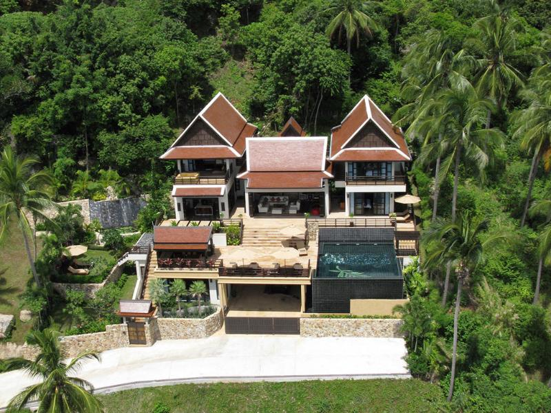 Aerial View - Golden Palm Villa - Chaweng - rentals