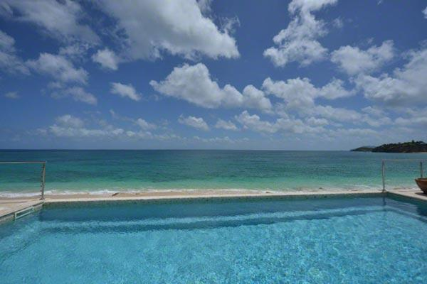 Enjoy views of the Caribbean Sea and Anguilla. C HOO - Image 1 - Baie Rouge - rentals