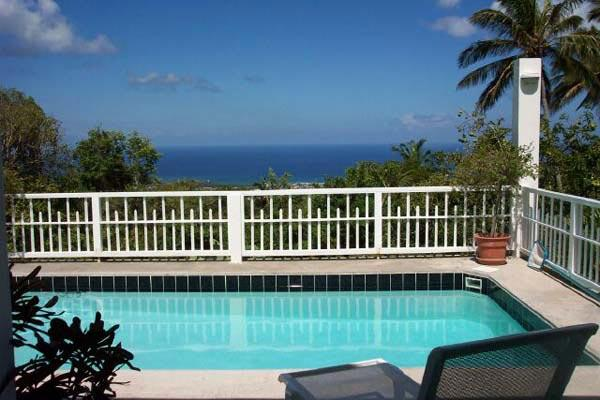 Secluded, romantic villa with views of St. Kitts and Statia. KL SEC - Image 1 - Saint Kitts and Nevis - rentals
