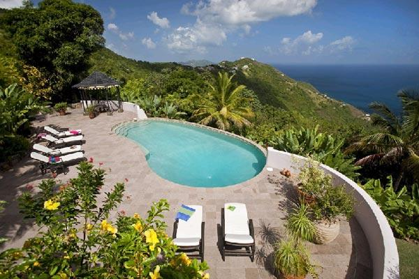 Enjoy the ocean views from this 10- acre property. MAT CAN - Image 1 - Tortola - rentals