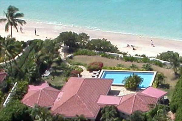 Luxury villa steps from Mahoe Beach with covered patio. VG FAN - Image 1 - Mahoe Bay - rentals