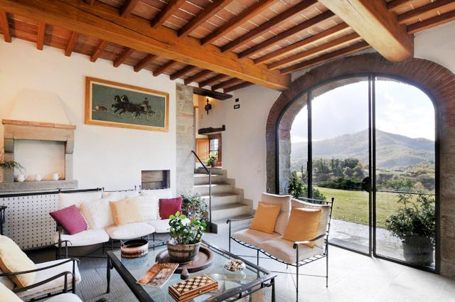 Tuscany Farmhouse with Pool and Views, Great for Family or Friends - Casa Santa - Image 1 - Arezzo - rentals