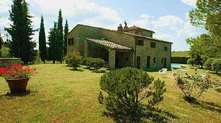 Villa Rental in Tuscany, Lecchi - Chiantigiana Maggiore - Image 1 - Gaiole in Chianti - rentals