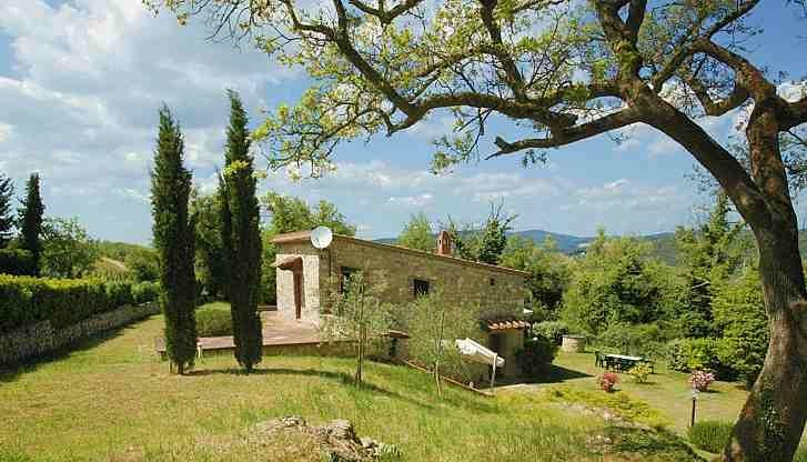 Tuscan Hillside Villas with Views of Vineyards and Olive Groves - Chiantigiana Minore - Image 1 - Gaiole in Chianti - rentals