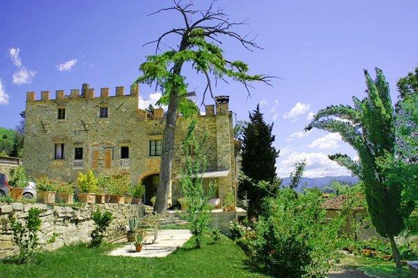 Apartment Rental in Tuscany, San Polo - Tenuta Santa Caterina - Sante - Image 1 - Strada in Chianti - rentals