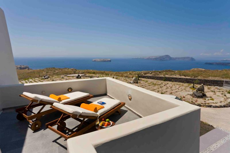 Luxurious and Private Villa near the famous Lighthouse of Santorini - Villa Metis - Image 1 - Fira - rentals