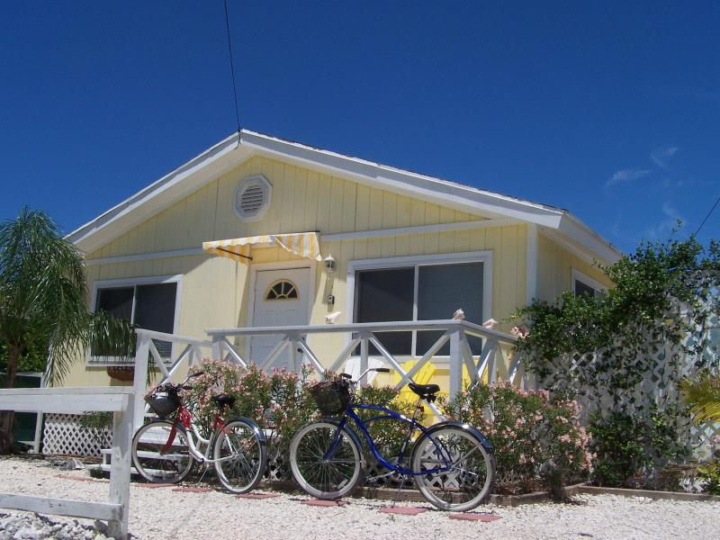 "Just in from riding the bikes - Hoopers Bay Villas, ""Cozy & Affordable Cottages.."" - George Town - rentals"
