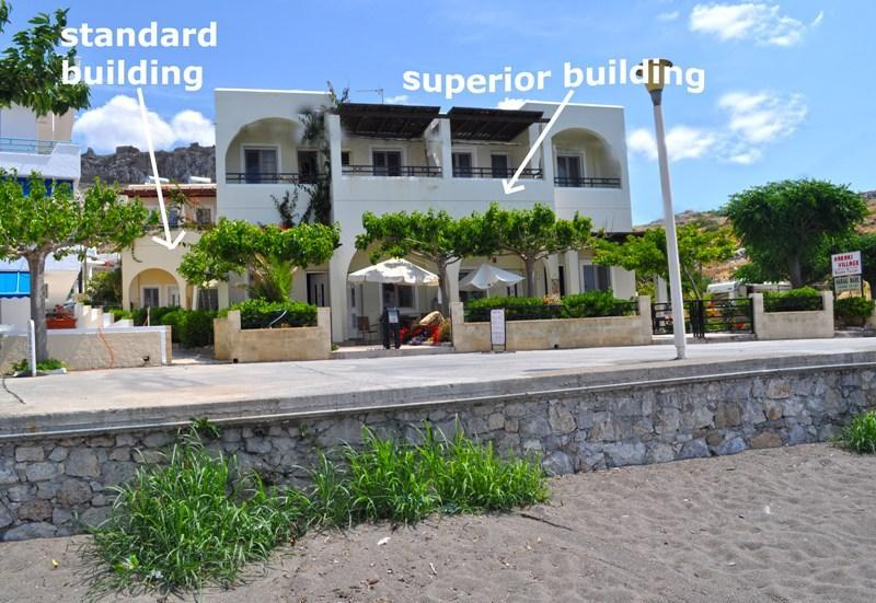 standard building is just few meters away from the superior building - Haraki Mare Studio&Apart/Standard 1st floor studio - Rhodes - rentals