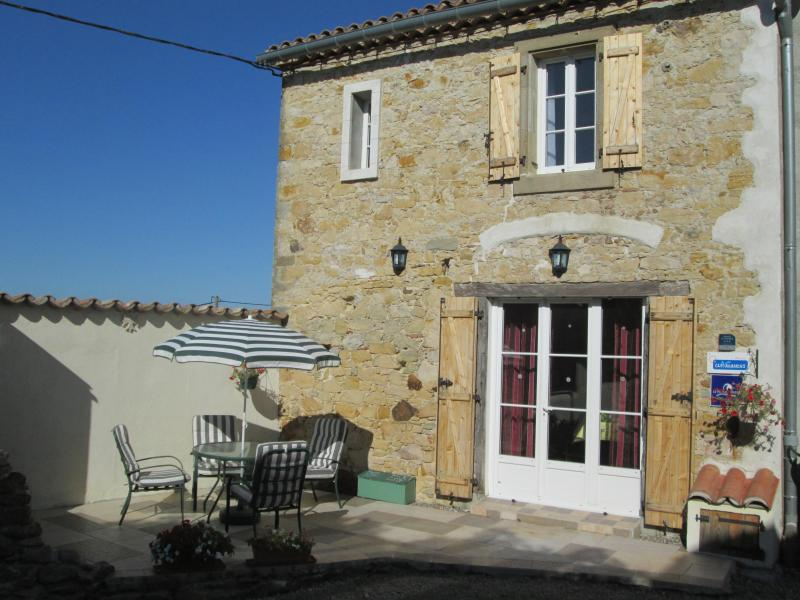 exterior view of the holiday cottage - Chez Grady French holiday Cottage near Carcassonne - Carcassonne - rentals