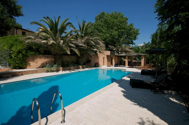 Swimming Pool - Luxury Villa Tuscany pool, tennis court private - Forcoli - rentals