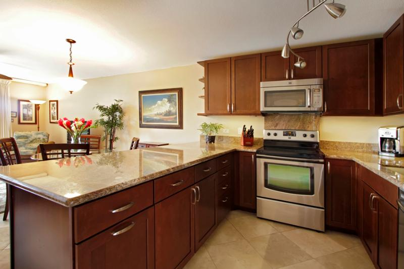 Remodeded Kitchen Unit 3-201 - Kamaole Sands Upgraded Units**Winter Available** - Kihei - rentals