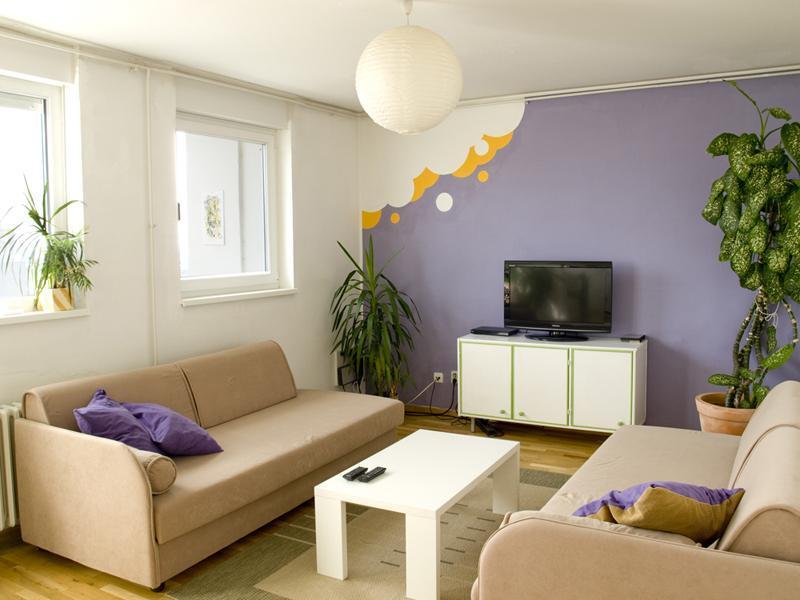 Living room - Rupa pod oblacima - Zagreb - rentals