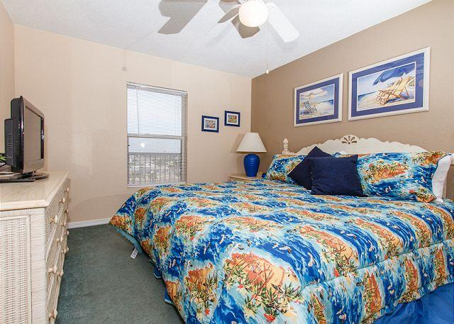 Master Bedroom - Condo #5005: - AMAZING 5th floor beach front, FREE BEACH SERVICE,FREE WI-FI - Fort Walton Beach - rentals