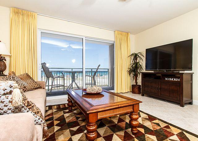 Beautiful new (as of APRIL 2013) furniture is found throughout t - PI 117: Spectacular Gulf view, Pool,  Free Beach Service, WiFi, snorkeling - Fort Walton Beach - rentals