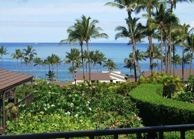 Panoramic View From Condo - Wailea Elua #2110 - Gorgeous Ocean View 2B/2B - Wailea - rentals