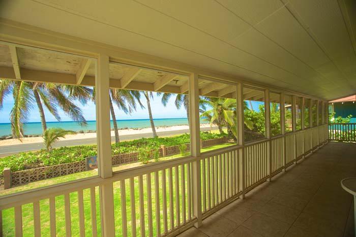 View from Hale Moana Cottage, Kekaha - Hale Moana - Kekaha Beach Cottage - Kekaha - rentals