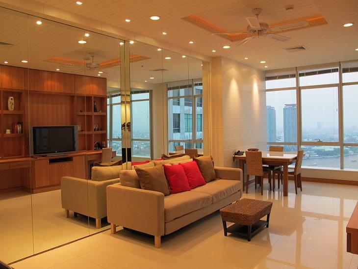 TheRiverSideBangkok 1/2BR cool romantic river view - Image 1 - Bangkok - rentals