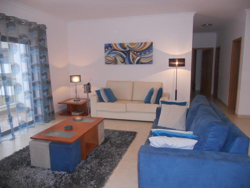 Spacious Living room area with views to the Marina and two balconies - Luxurious penthouse apartment - Lagos - rentals