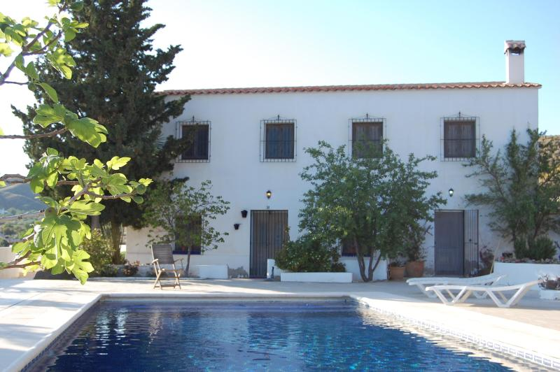 the house - very private, lovely pool - Almeria - 5 bedroom converted farmhouse - Huercal-Overa - rentals