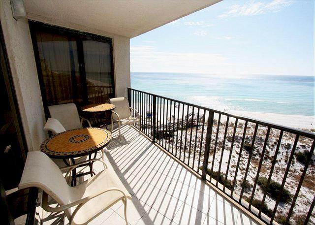 Private Balcony - Beachside One 4093 Beach Front with a Perfect View! Free Golf! - Sandestin - rentals