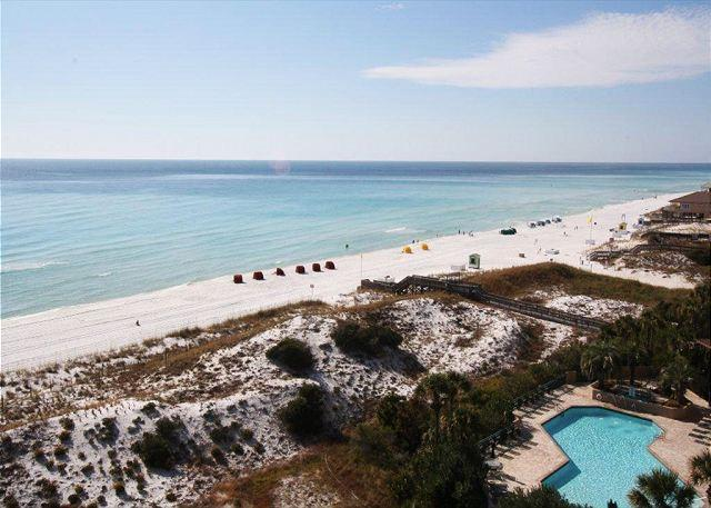 View from Balcony - Beachside One 4093 Beach Front with a Perfect View! Free Golf! - Sandestin - rentals