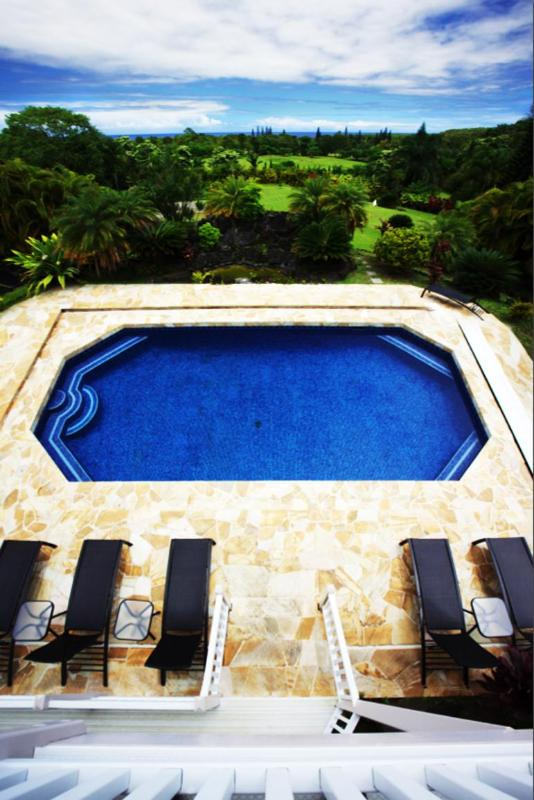 Pool - The Hana Estate.  Welcome to Paradise, Maui Style. - Hana - rentals