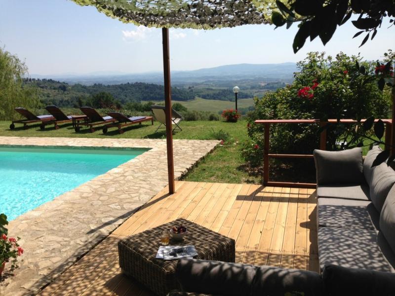 La Novellina - 9 pax Pool-AC-WIFI Florence /Siena - Image 1 - Certaldo - rentals