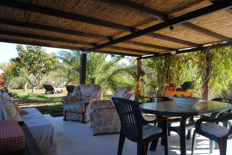 the big veranda - Private Villa near Iglesias- max 6 people 2 bedrooms, 2 bathrooms - Villamassargia - rentals