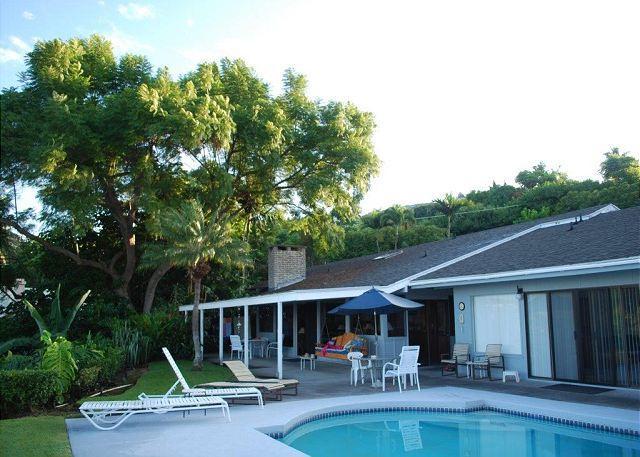 Pool - Hale  Malu Wahi - Private Home with Sweeping Ocean Views! - Kailua-Kona - rentals