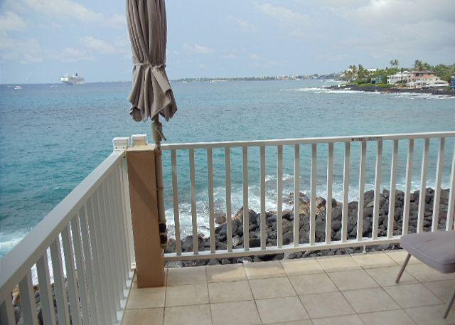 Ocean Front Lanai - Sea Village 1101-SV1101 - Kailua-Kona - rentals