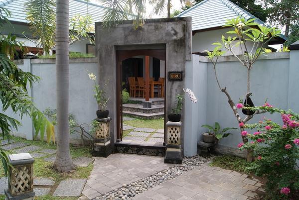 entrance villa Biru - Bali holiday villa Oasis Biru - Sanur - rentals