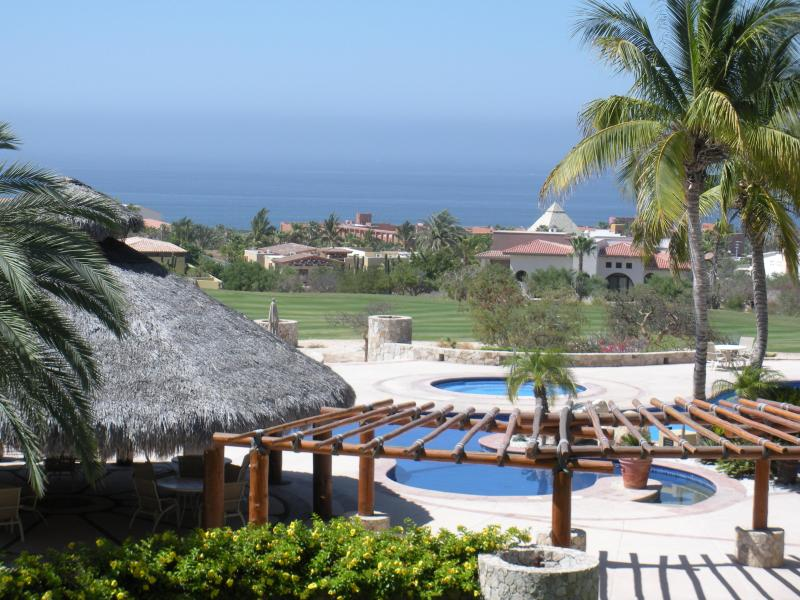 View from terrace - Ocean view, golf course Cabo condo - San Jose Del Cabo - rentals