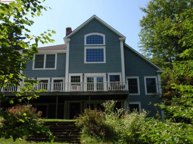 View from Lake Shore - Luxury Lakefront Home - Near Acadia, Bar Harbor - Blue Hill - rentals