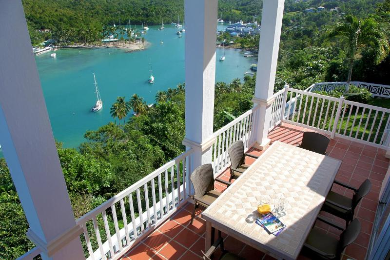Welcome the Great House of Marigot Bay... - The Great House Overlooking the Entire Marigot Bay - Marigot Bay - rentals