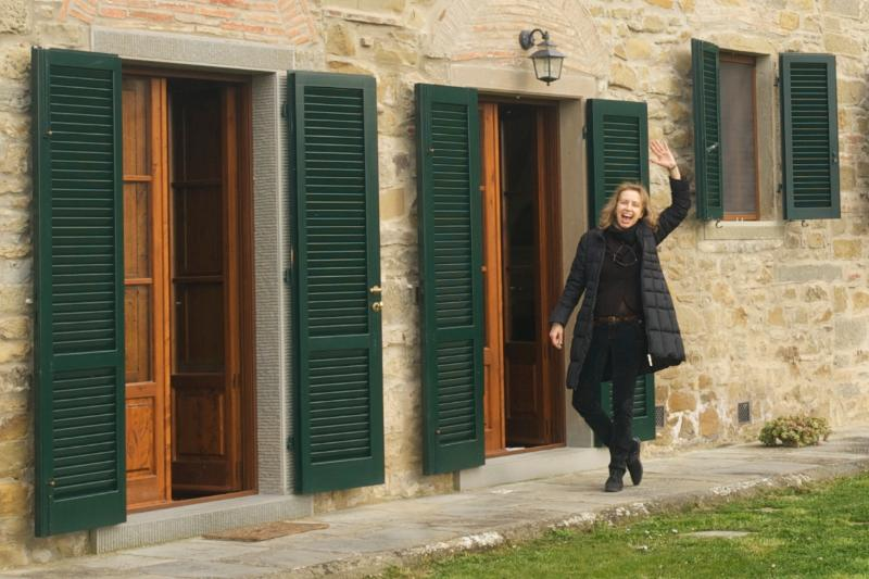 Villa in Cortona with Pool and Beautiful Views - Villa Dante - Image 1 - Cortona - rentals