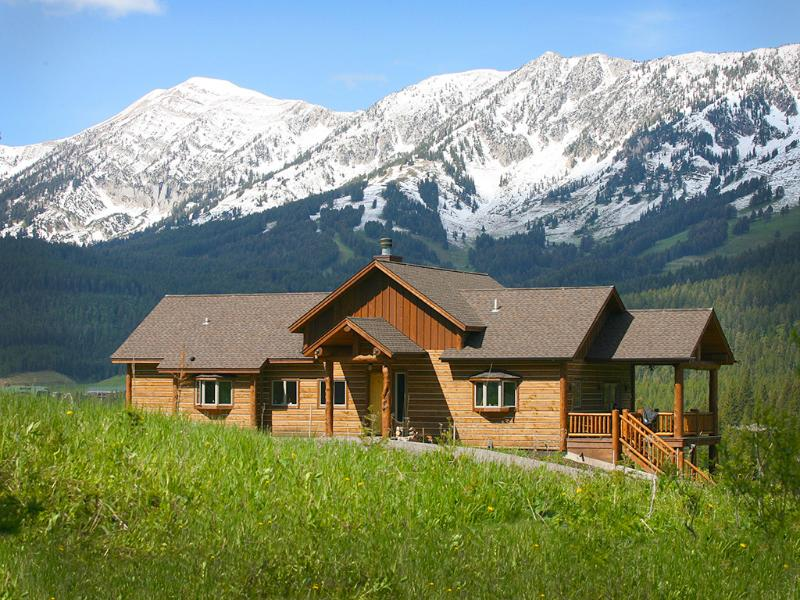 Bozeman Vacation Rental - ideal place to enjoy the mountains in comfort - Bridger Canyon Log Home*Enjoy mountains in comfort - Bozeman - rentals