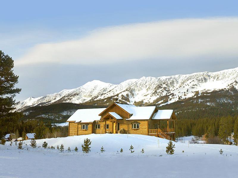 Bridger Vista Lodge - Best Bridger Bowl Vacation Rental w/ view of ski slopes, 16mi to Bozeman, MT - Bridger Vista Lodge - ski Bridger Bowl - Bozeman - rentals