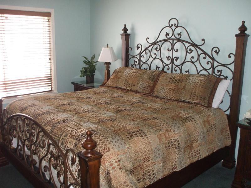 Master Bedroom has King size bed - Kingston -2Br Villa Free WaterPark Access - Myrtle Beach - rentals
