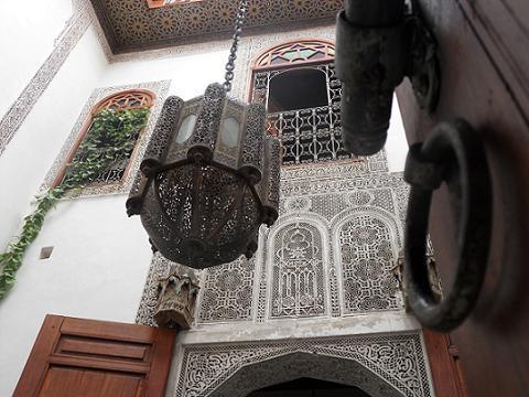 Inner Courtyard - Dar El Menia - Fes - rentals