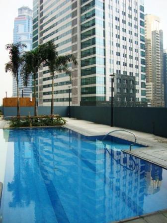 Pool - 1b Loft - Ortigas CBD - Best Short Term Rates - Pasig - rentals