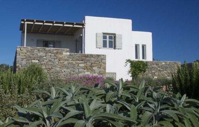 Villa Elia external view - Villa Elia - Kid friendly next to best beach - Paros - rentals