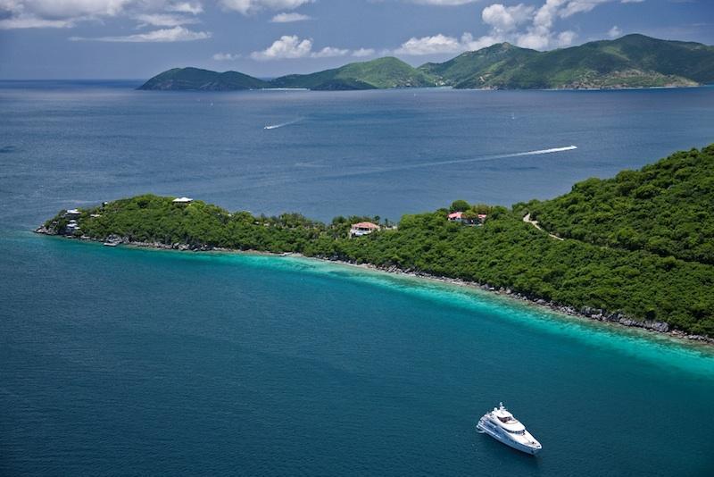 Gestalt Villa on Steele Point Estate - Ocean Front Mediterranean Villa with Private Dock - West End - rentals