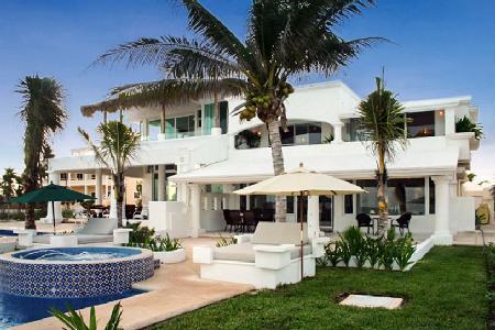 Villa Tortuga - Exclusive villa on the beach with scenic terrace & pool - Image 1 - Playa del Secreto - rentals